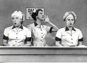 I Love Lucy bw