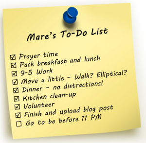 Mare - To Do List
