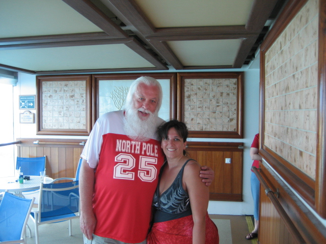 Cruisin' with Santa in the sunny Caribbean