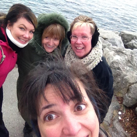 I've got to learn how to take a group selfie!