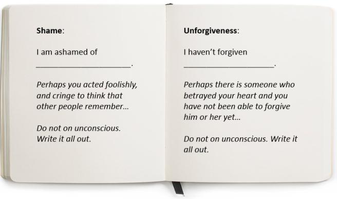 Shame and Unforgiveness